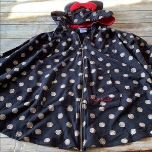 Disney parks Minnie Mouse poncho